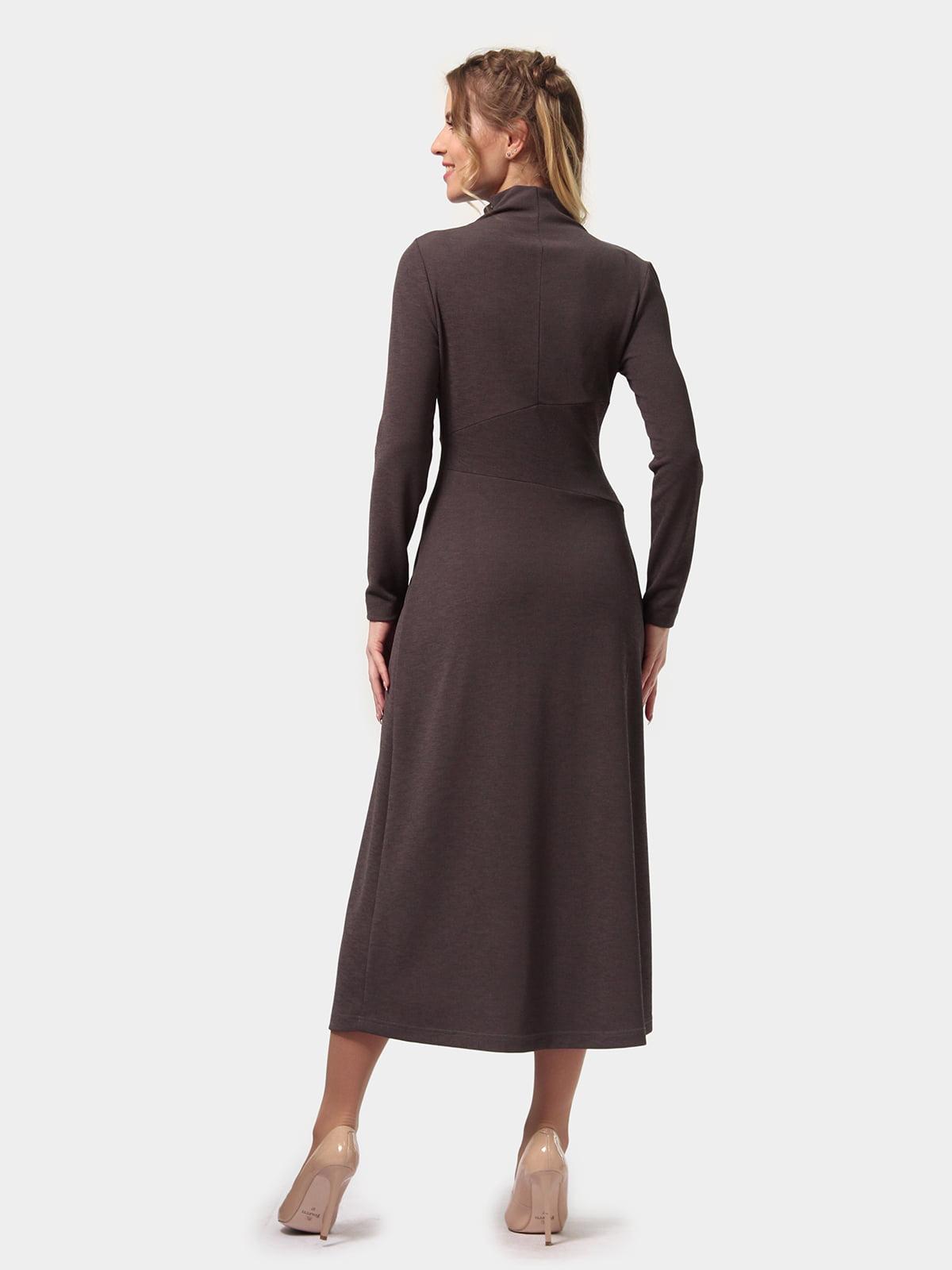 Платье графитового цвета | 4775700 | фото 5