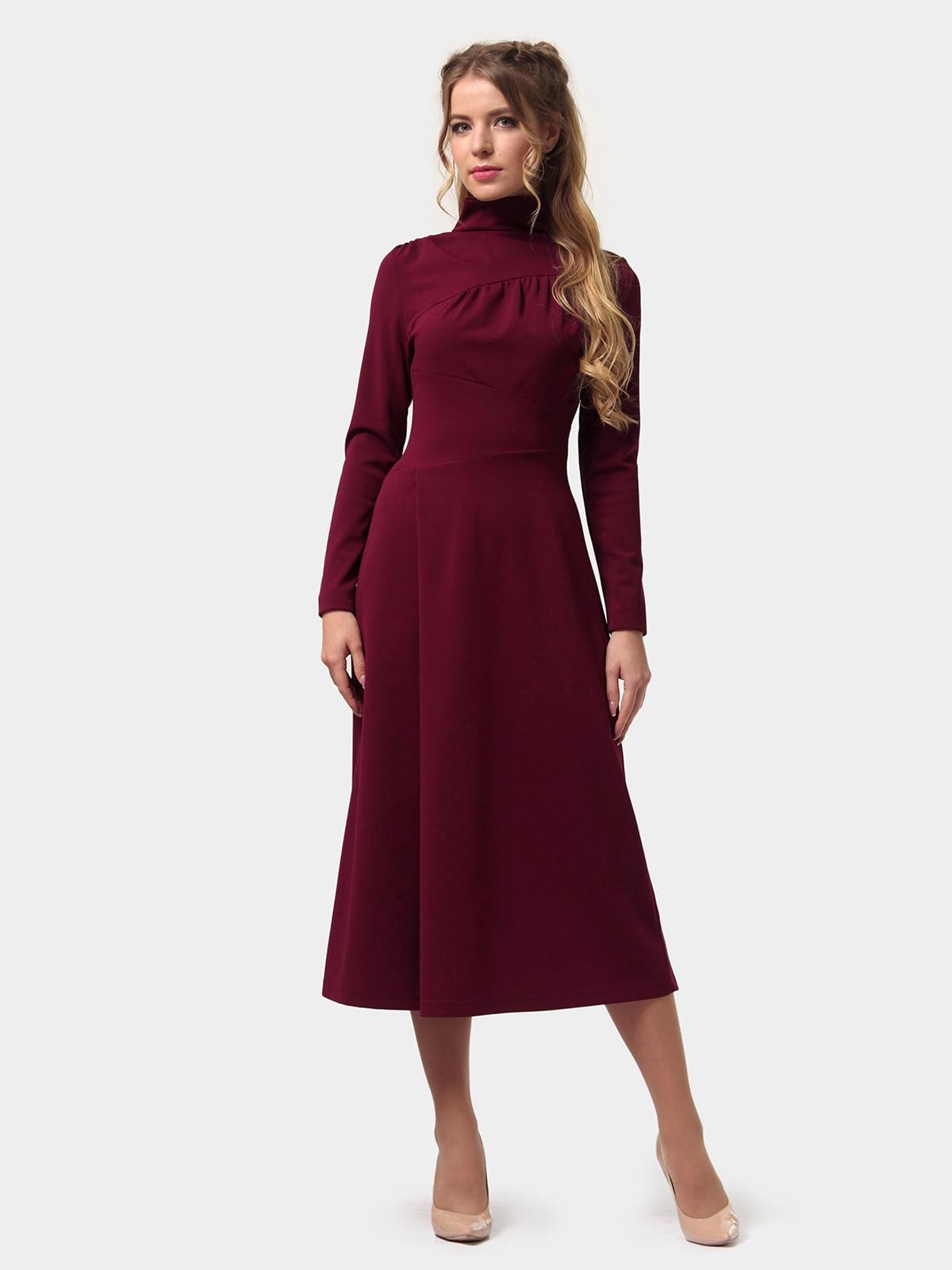 Сукня бордова | 4775701