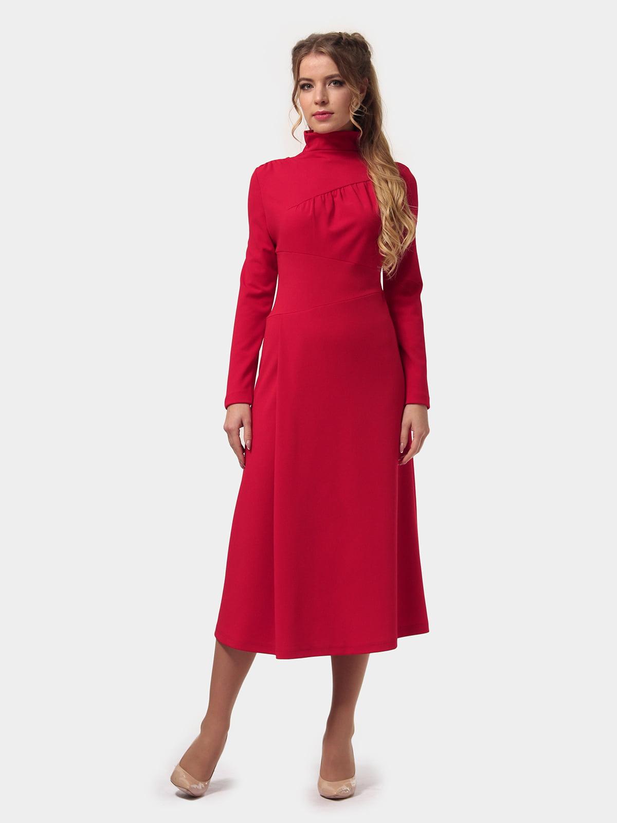 Платье красное | 4775702