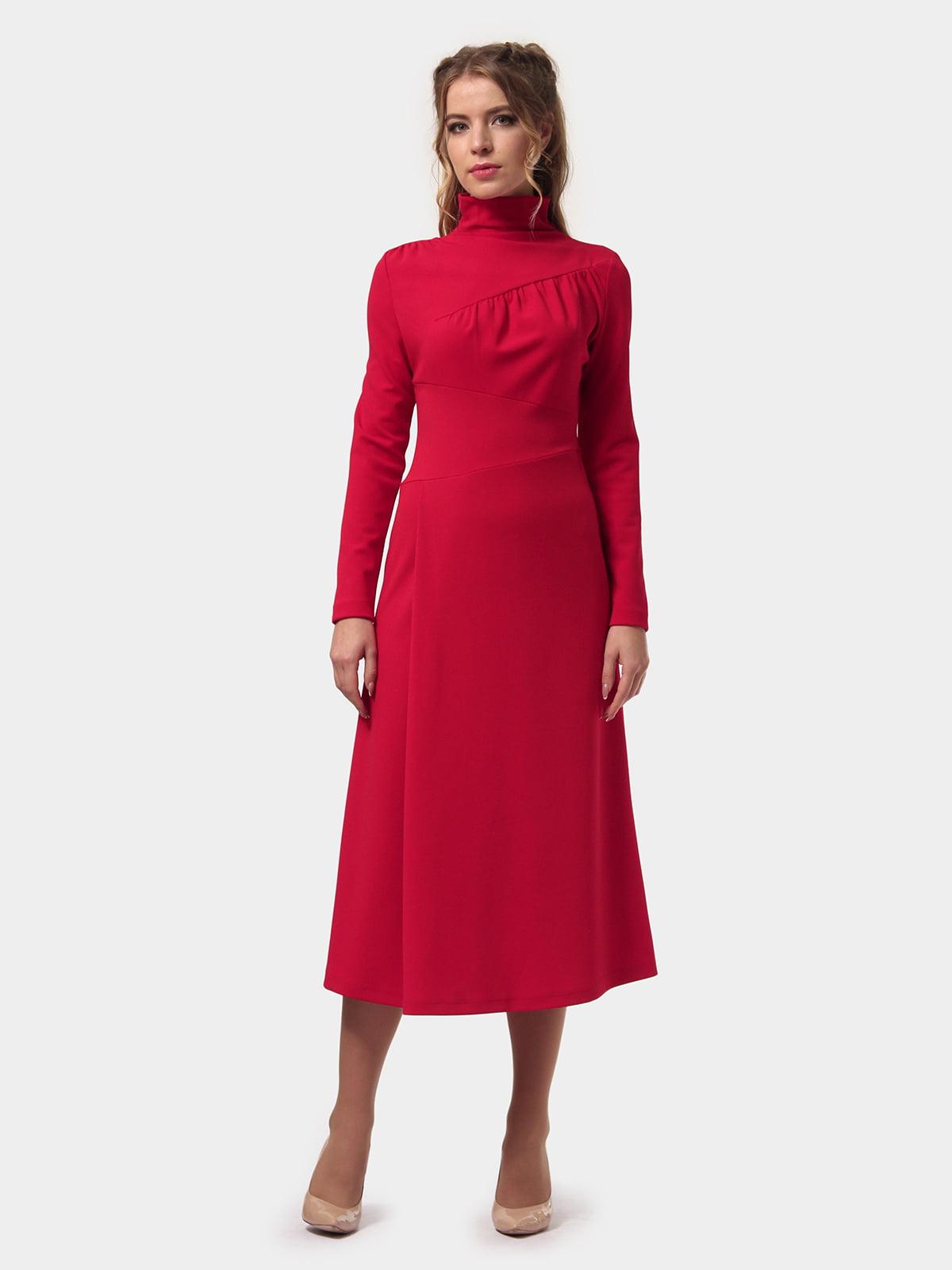 Платье красное | 4775702 | фото 3