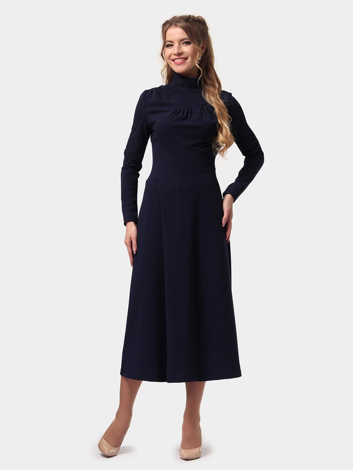 Платье темно-синее   4775706