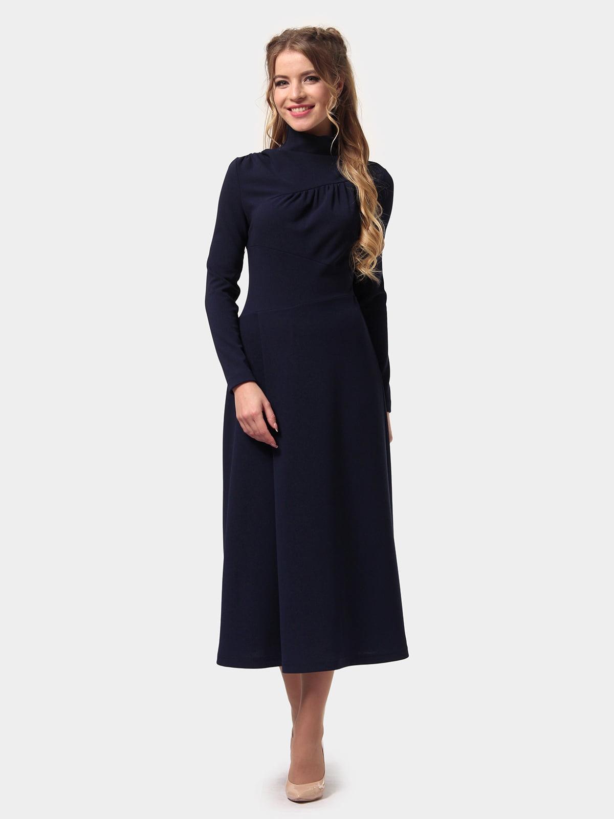 Платье темно-синее   4775706   фото 2