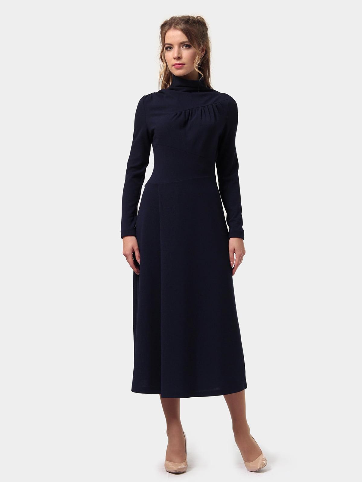 Платье темно-синее   4775706   фото 3