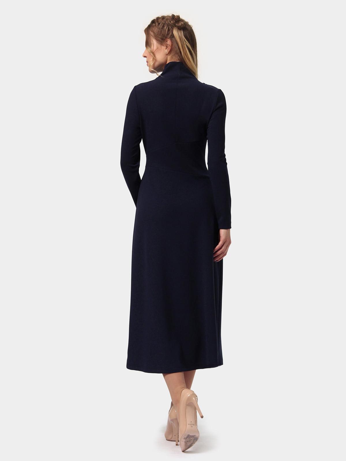 Платье темно-синее   4775706   фото 4