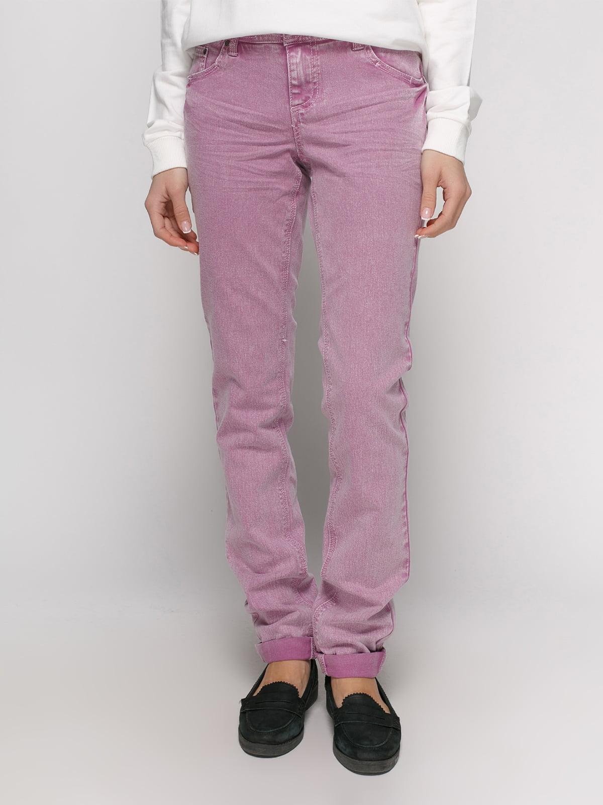 Джинси фіолетові | 2790871