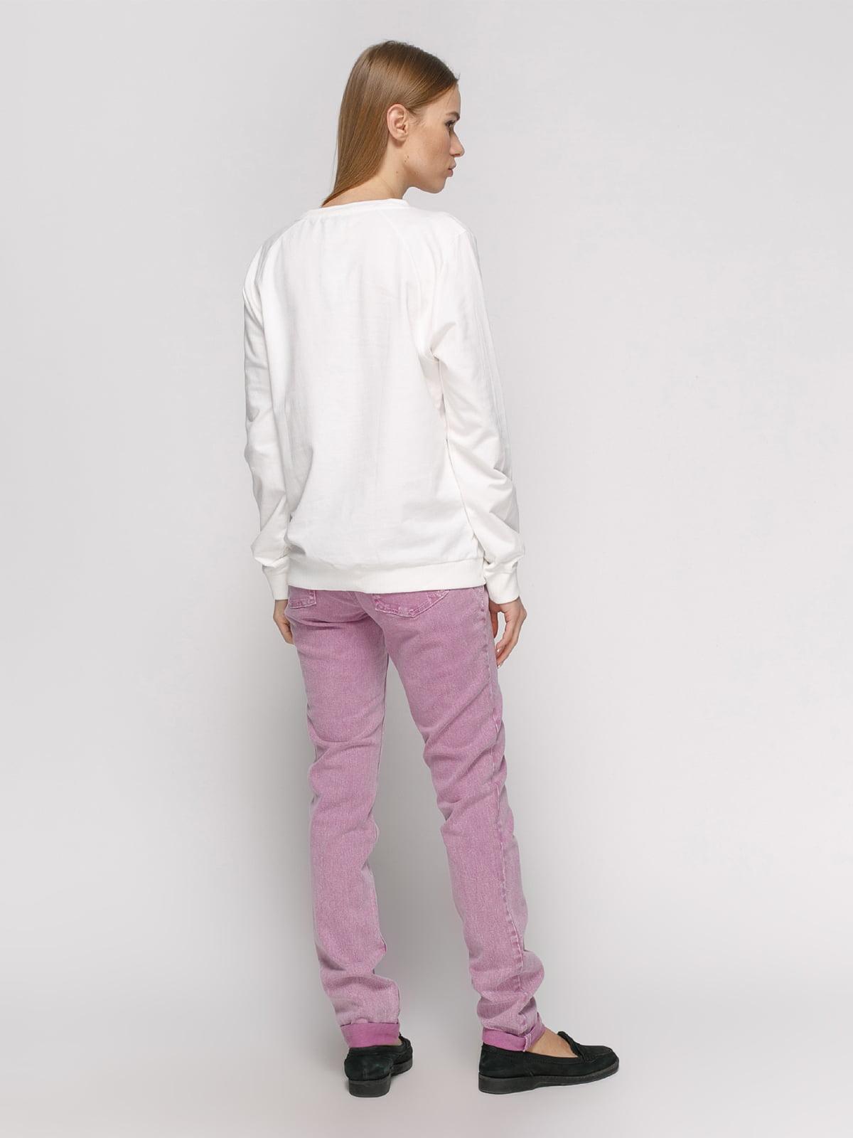 Джинси фіолетові | 2790871 | фото 3