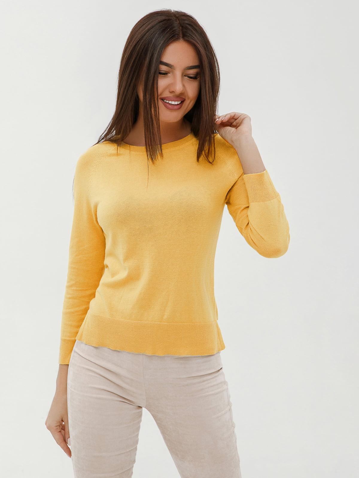 Джемпер желтый | 4758920