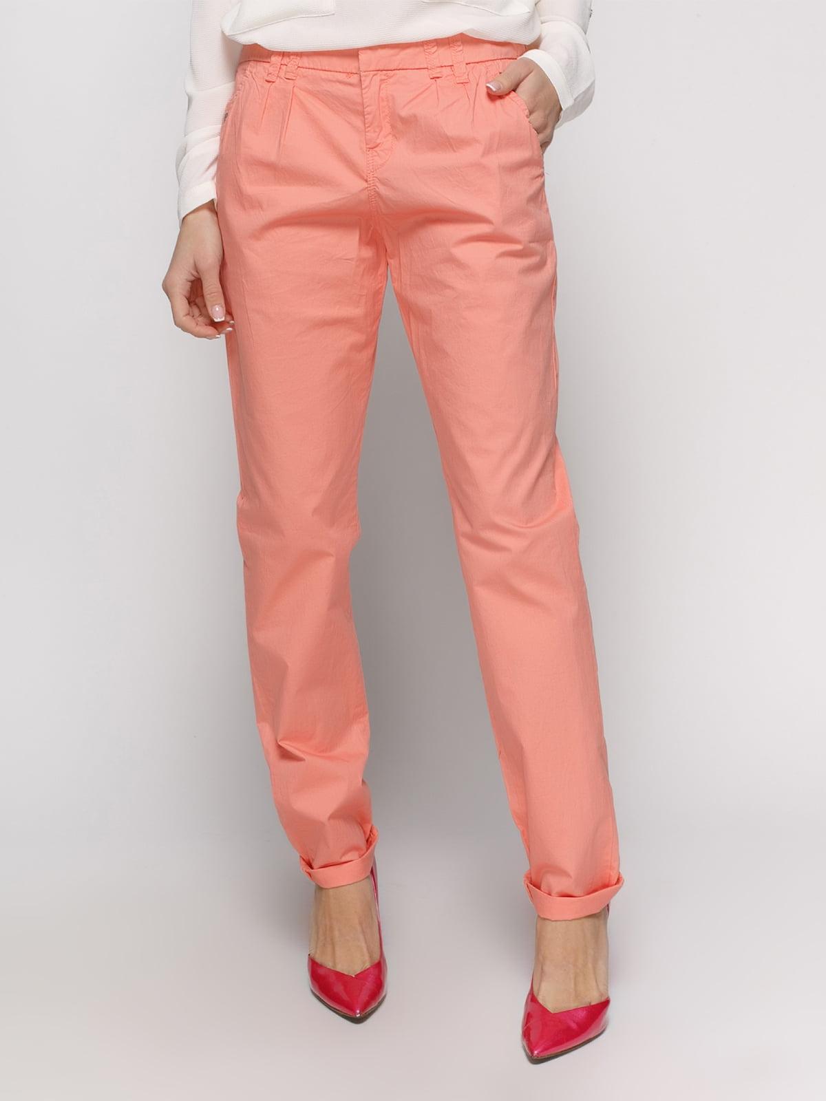 Штани персикового кольору | 2784855