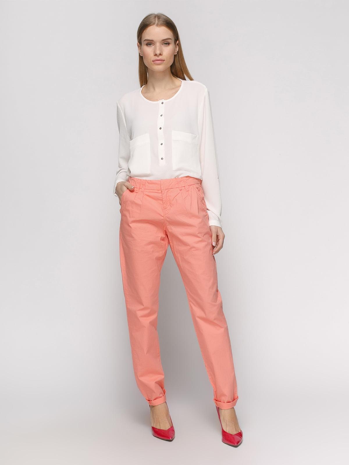 Штани персикового кольору | 2784855 | фото 2