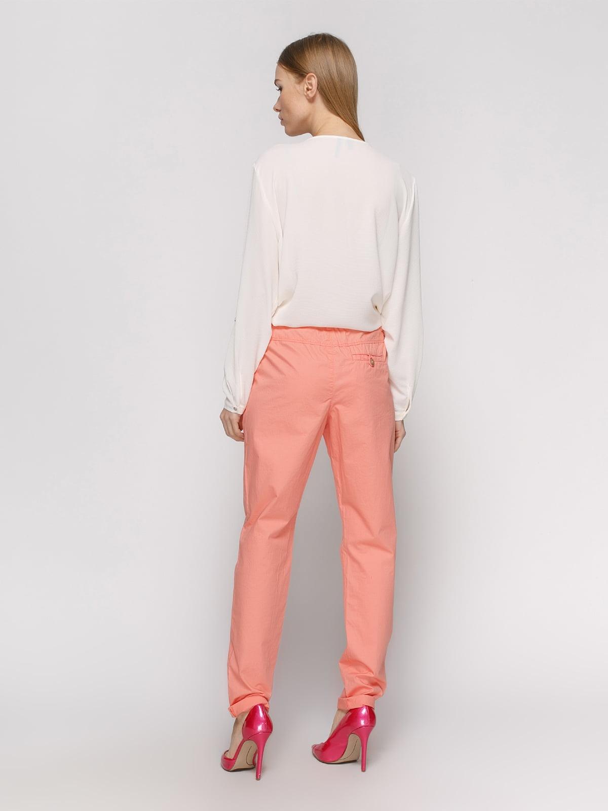 Штани персикового кольору | 2784855 | фото 3