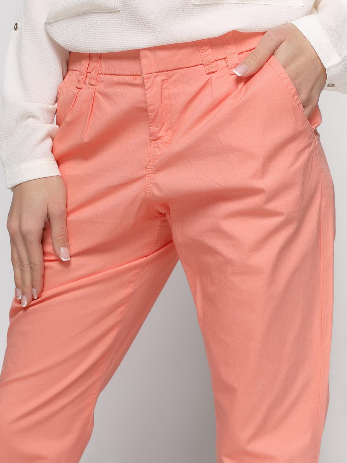 Штани персикового кольору | 2784855 | фото 4