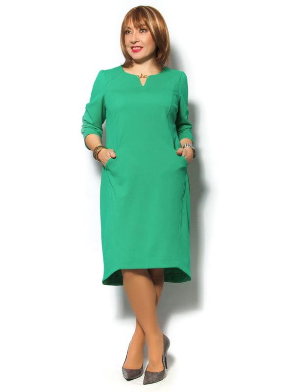 Платье травянистого цвета   4776467