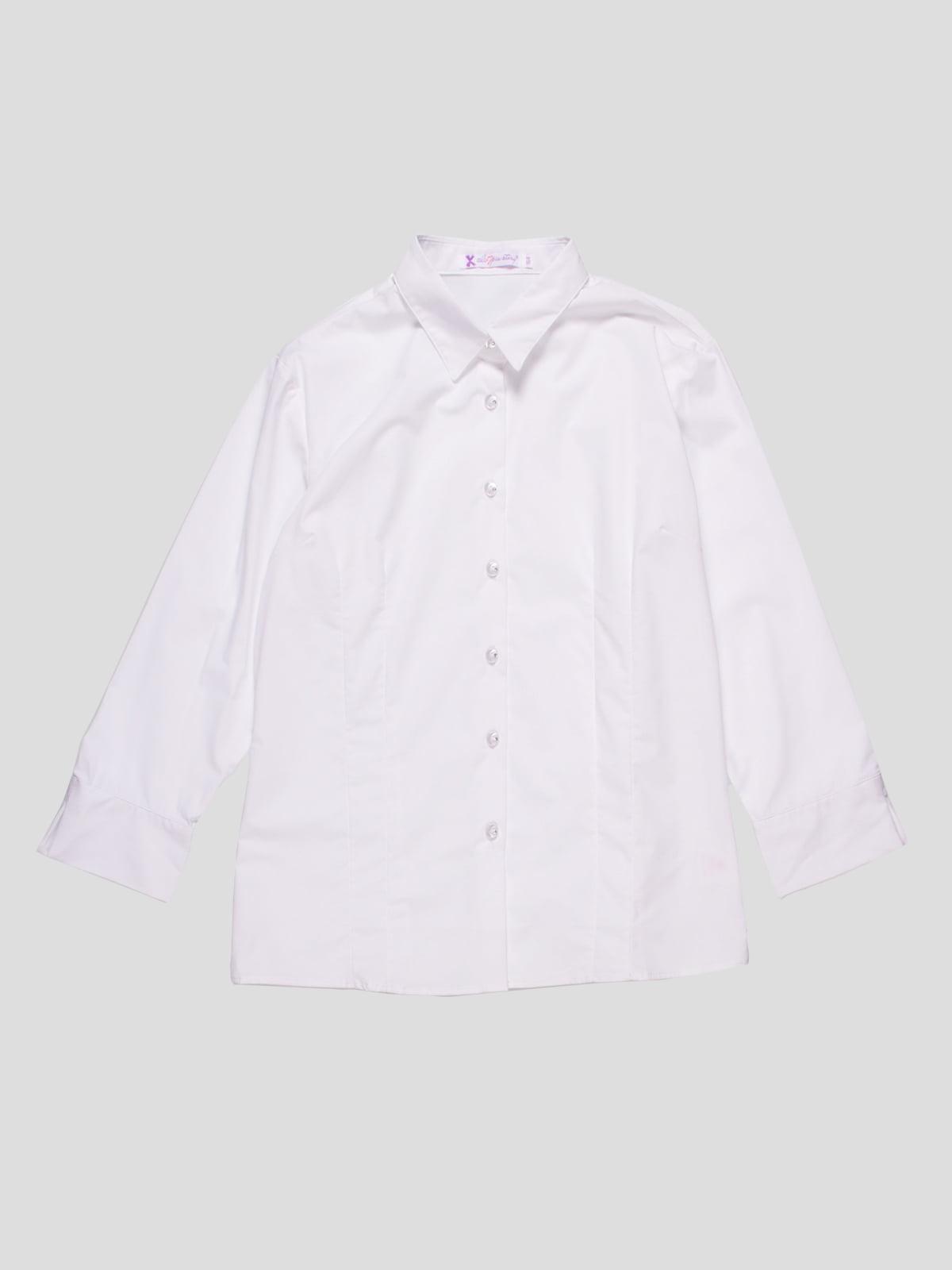 Рубашка белая | 4761250