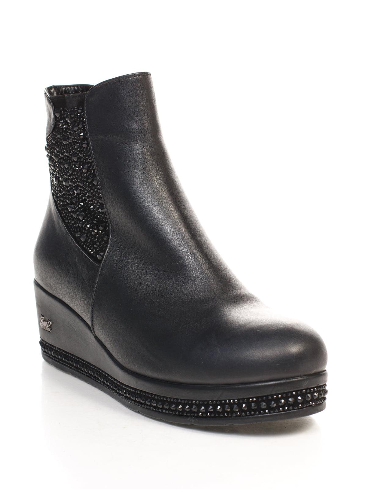 Ботинки черные   4771547