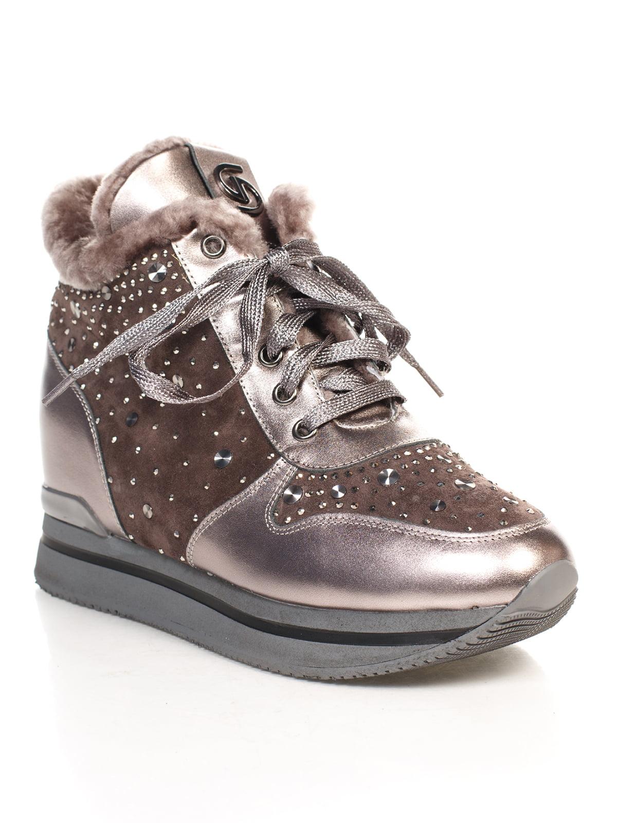 Ботинки серые | 4771548