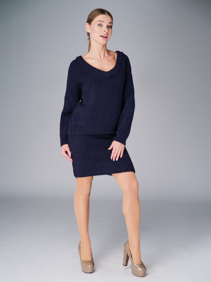 Комплект: пуловер и юбка | 4778466