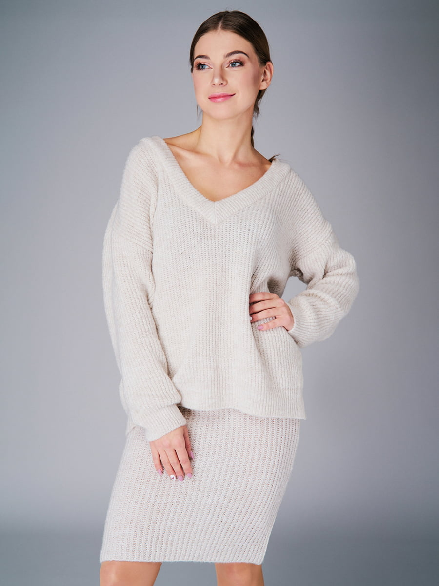 Комплект: пуловер і спідниця | 4778468 | фото 2
