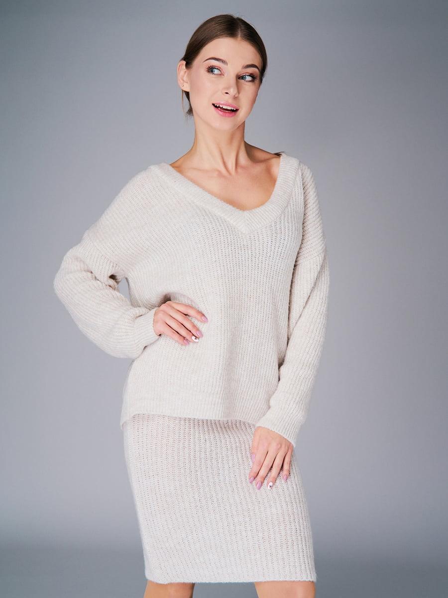 Комплект: пуловер і спідниця | 4778468 | фото 3