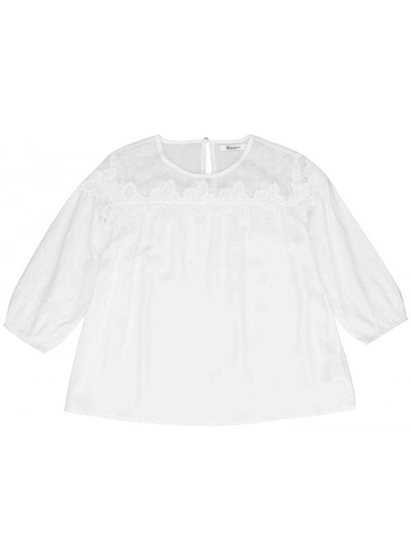 Блуза белая   4781137