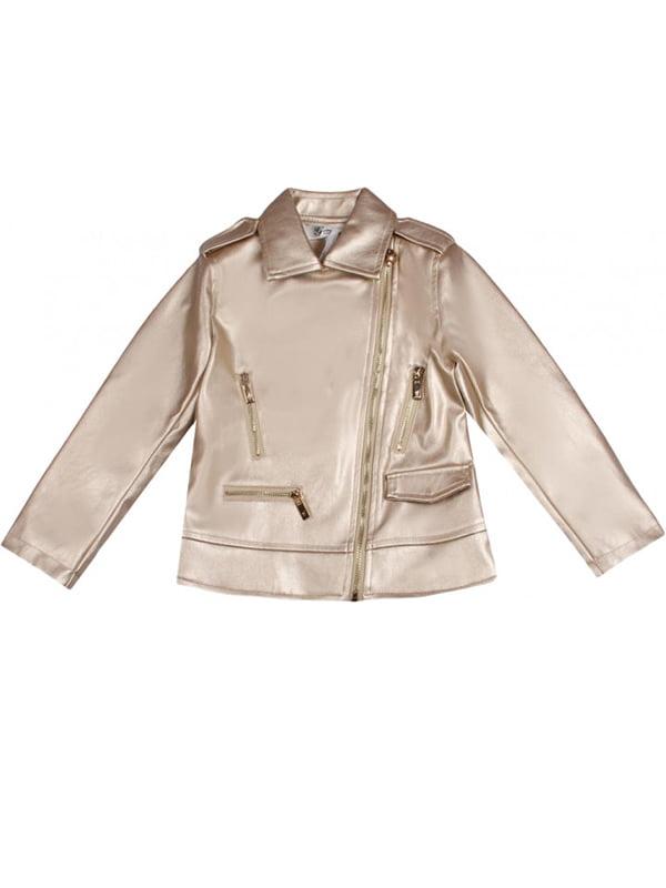 Куртка золотистая | 4781176