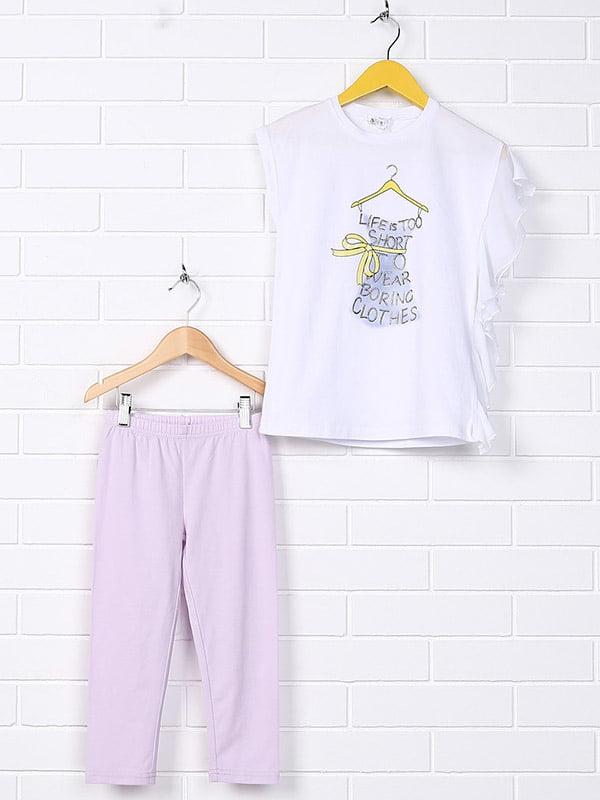 Комплект: штани і футболка | 4781292