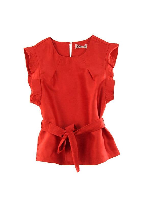 Блуза червона   4781427
