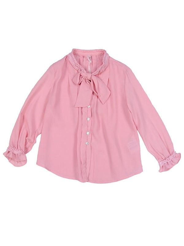 Блуза рожева | 4781504