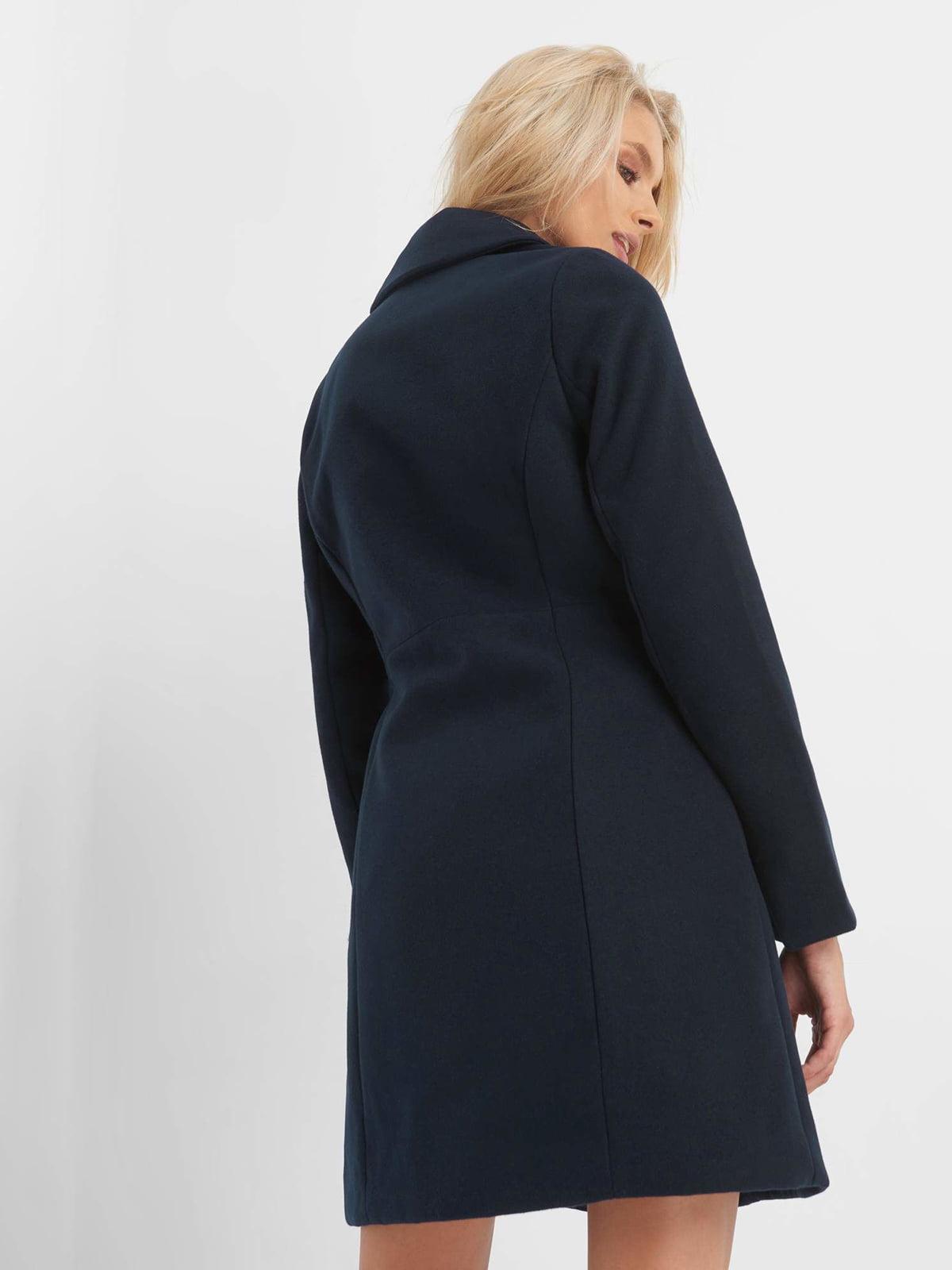 Пальто синє | 4677712 | фото 11