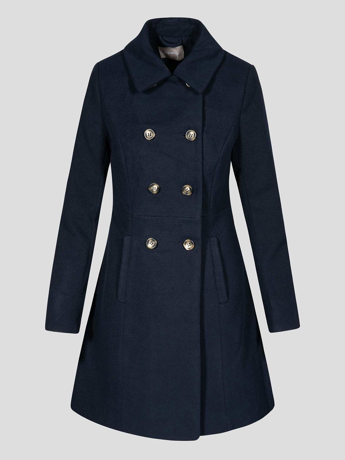 Пальто синє | 4677712 | фото 13