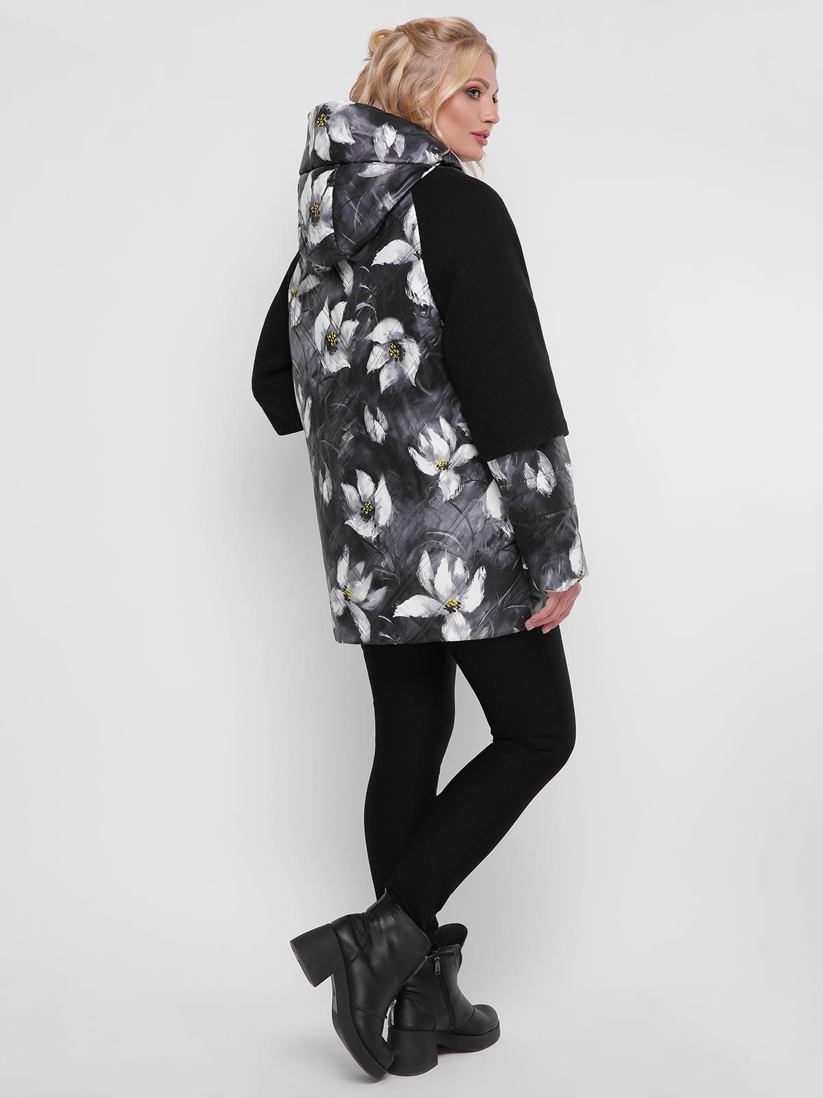 Куртка в цветочный принт   4781726   фото 2