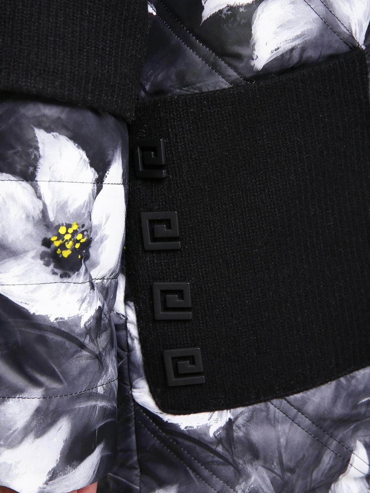 Куртка в цветочный принт   4781726   фото 3