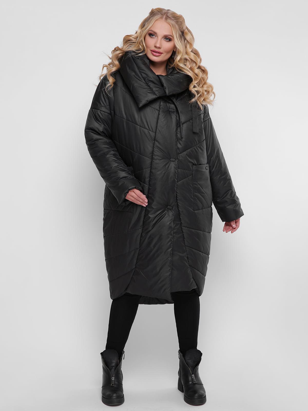 Пальто черное | 4781727 | фото 2