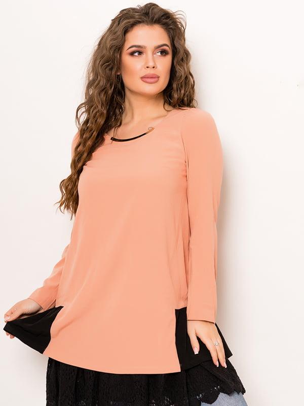 Туника персикового цвета | 4782186
