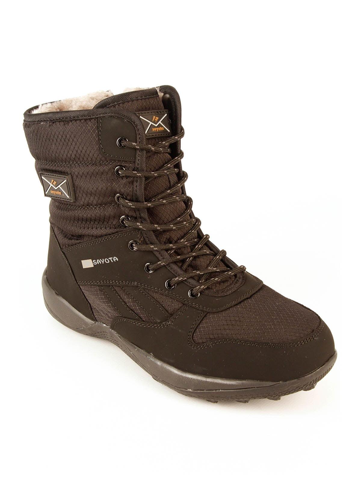Ботинки черные   4781953