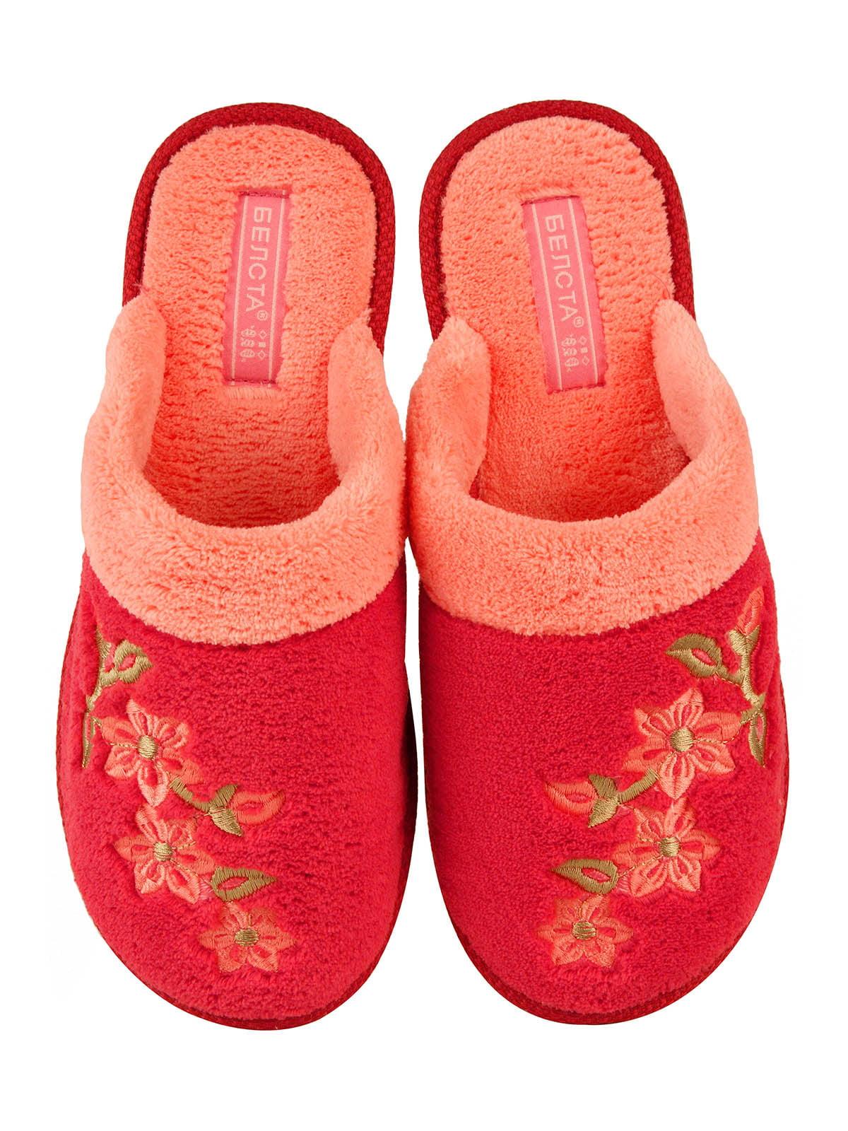 Тапочки красные | 4782907