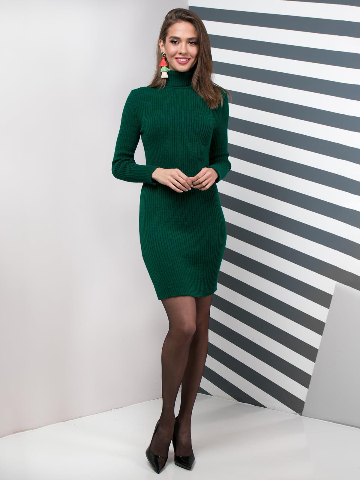 Сукня темно-зелена | 4759829