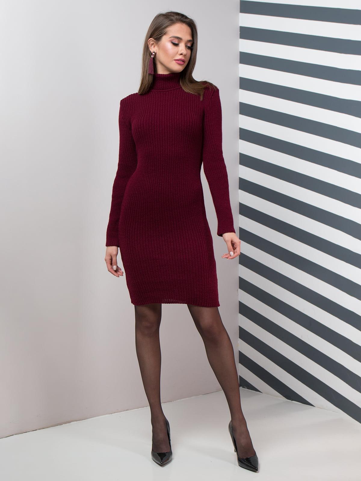 Платье темно-красное | 4759833