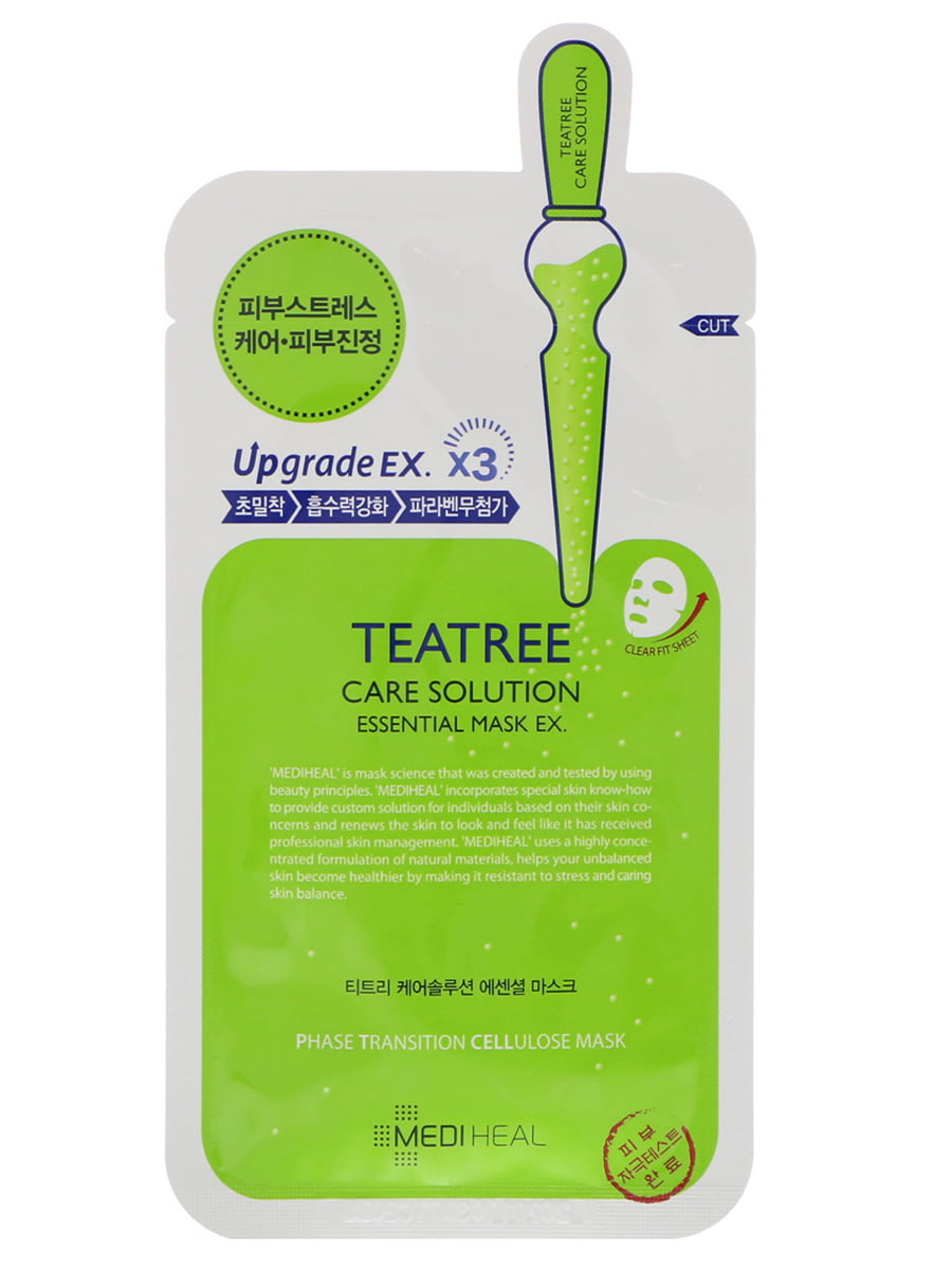Маска тканинна для обличчя Teatree Care Solution Essential Ex (24 мл) | 4782963