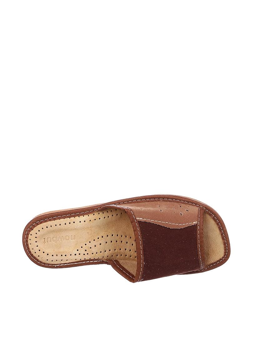 Тапочки коричневые   4599438   фото 2