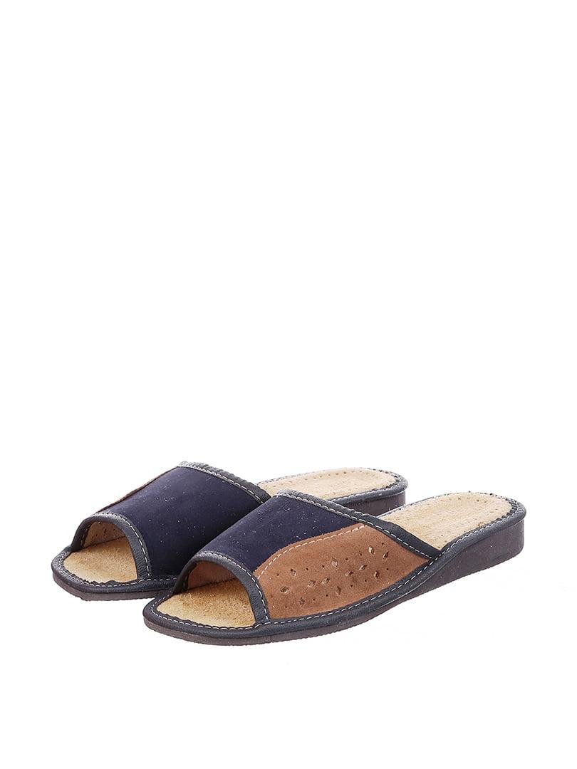 Тапочки синие | 4599439