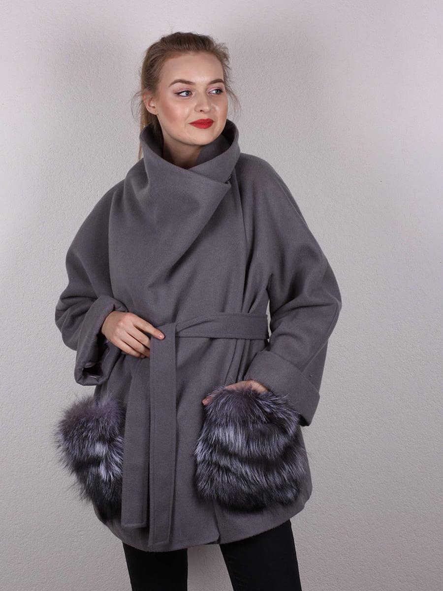 Пальто серое | 4770681