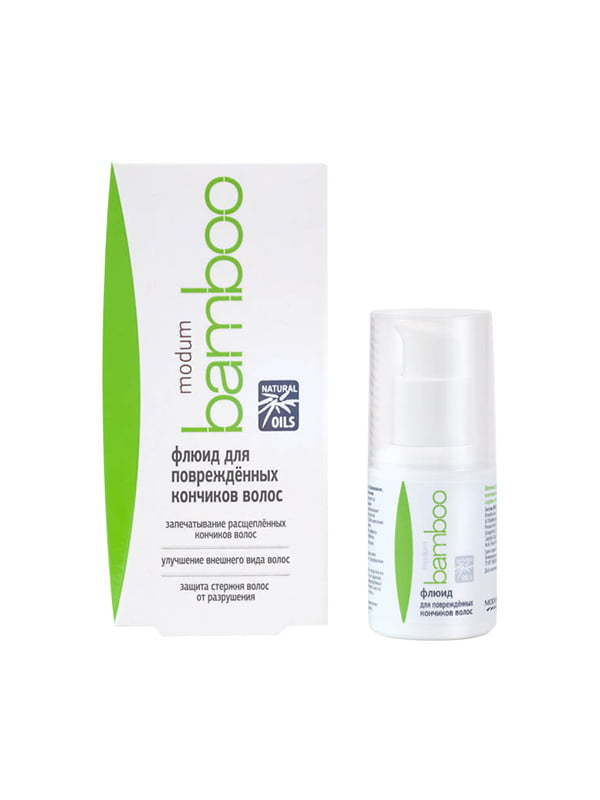 Флюїд для пошкоджених кінчиків волосся серії Modum Bamboo (30 мл) | 4784727