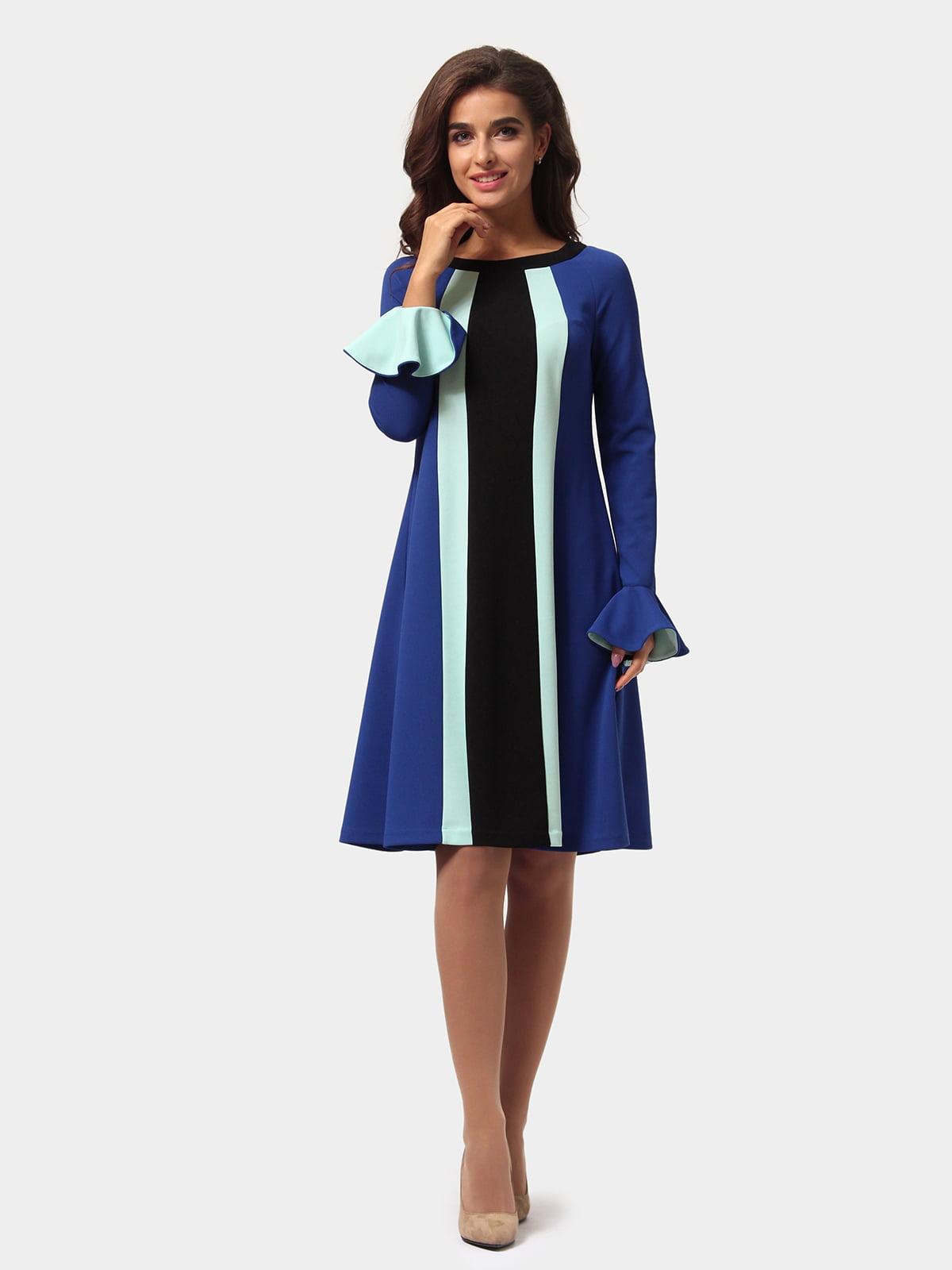 Платье трехцветное   4784898