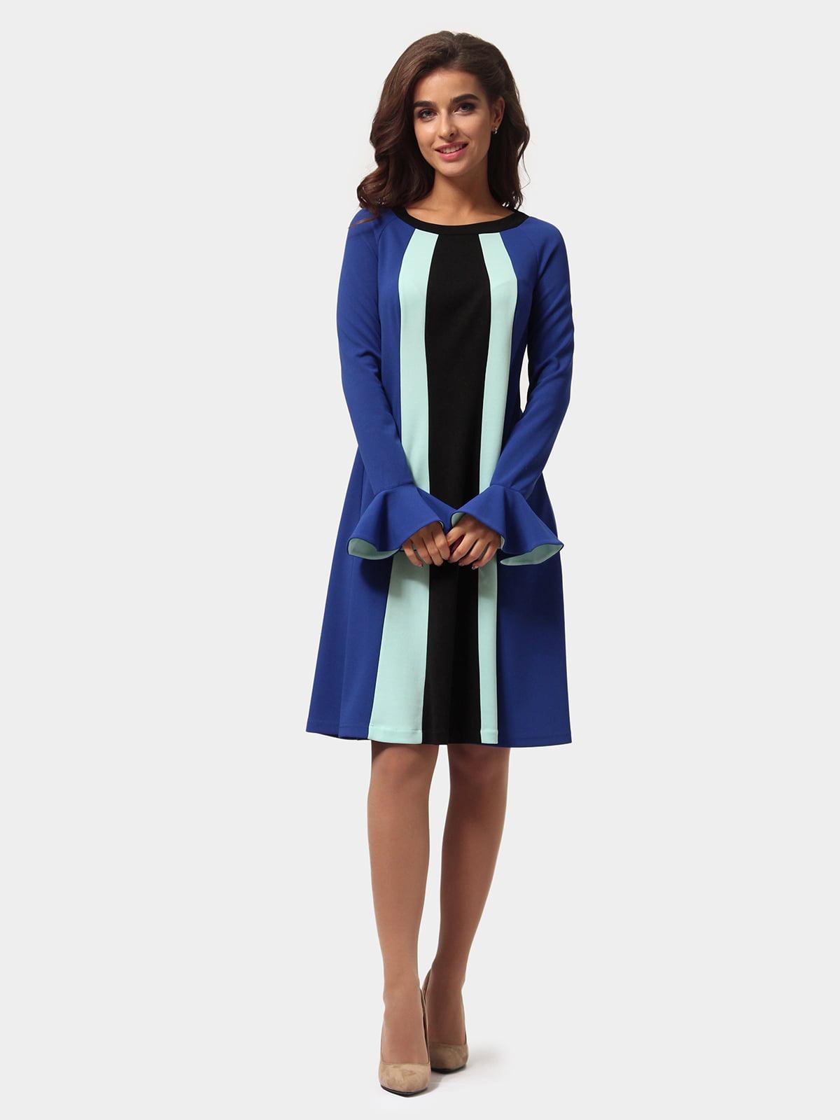 Платье трехцветное   4784898   фото 2