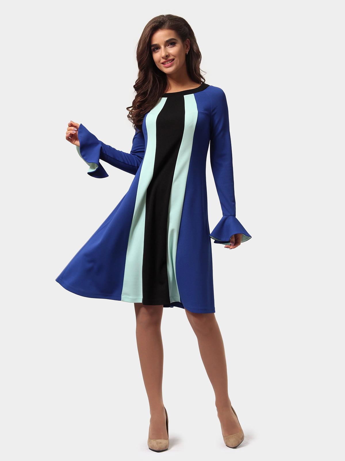 Платье трехцветное   4784898   фото 3