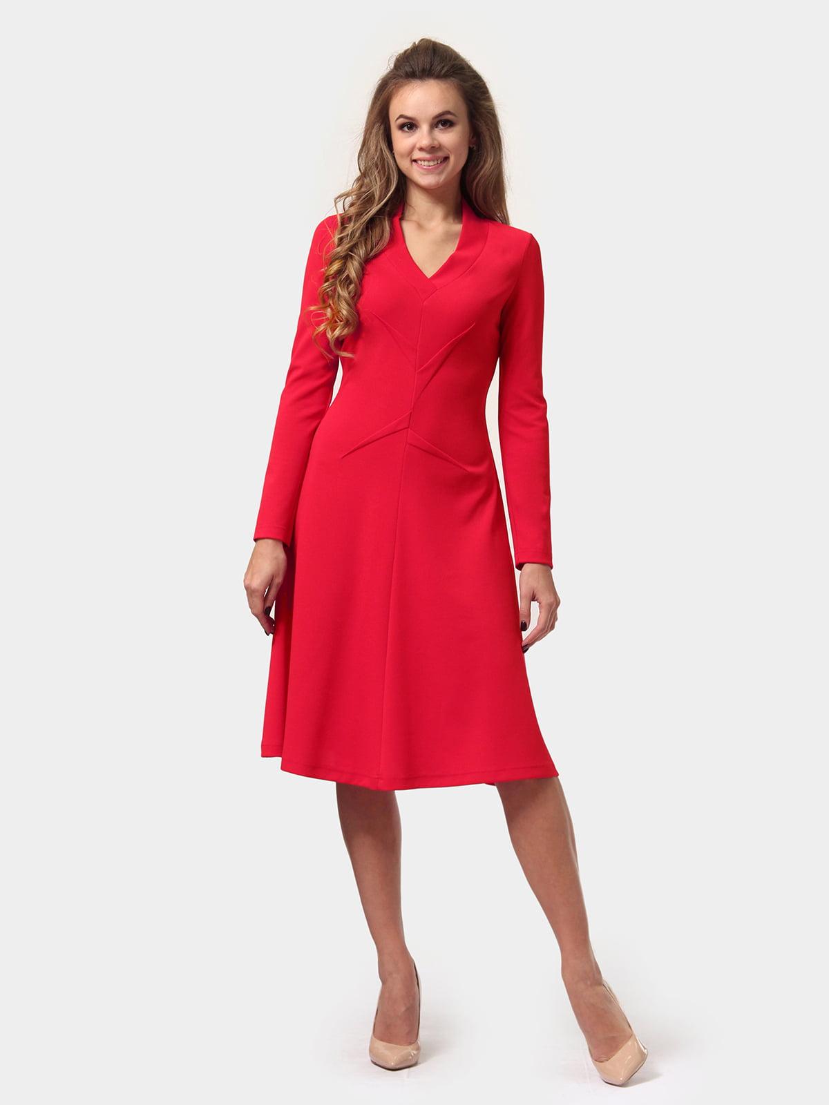 Платье красное | 4784919