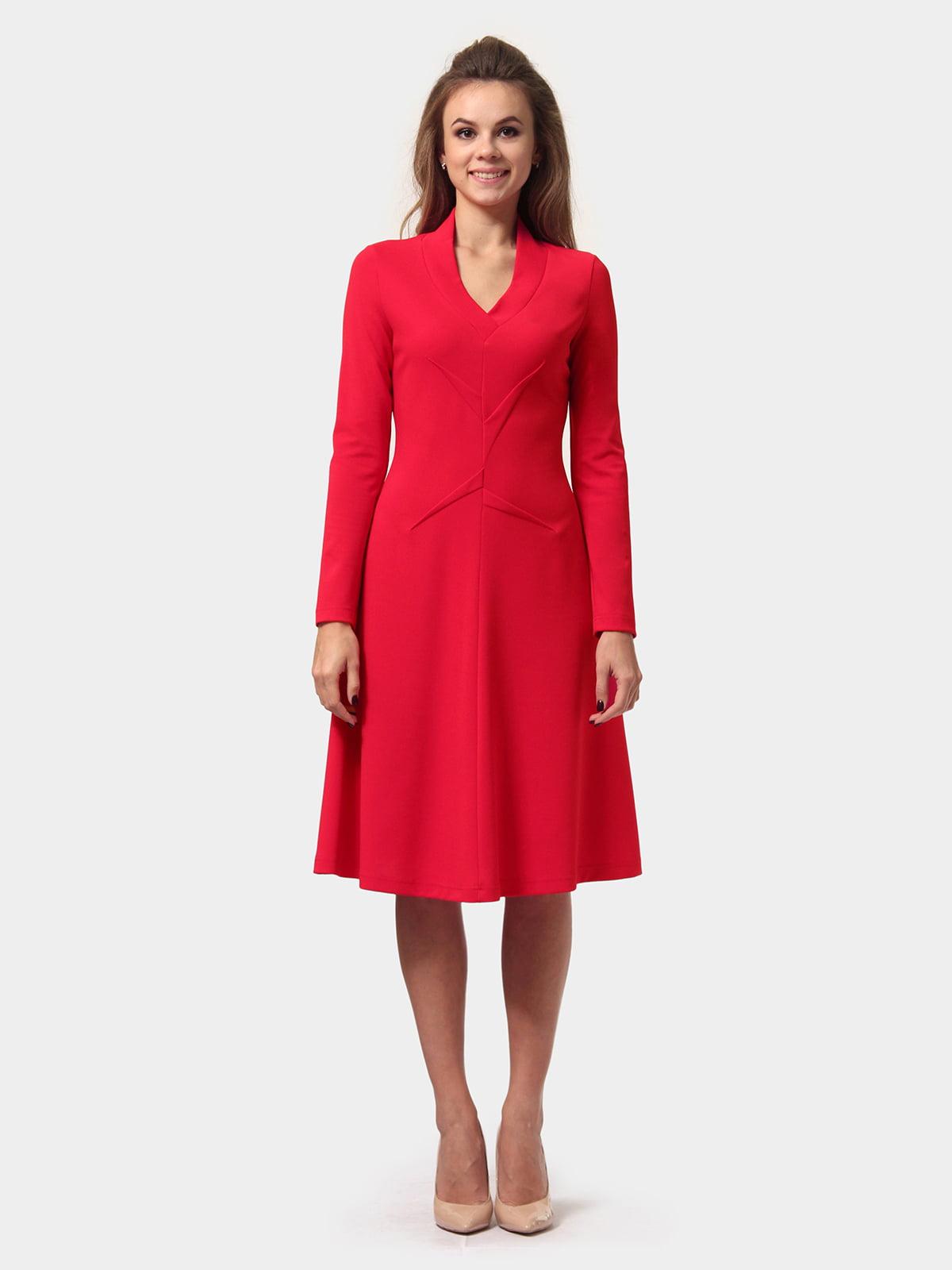 Платье красное | 4784919 | фото 2