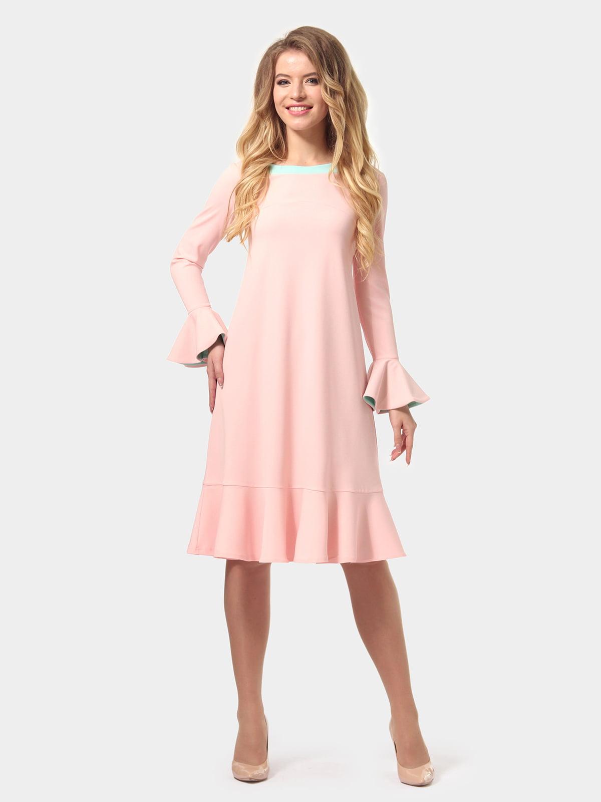 Платье цвета пудры   4784927