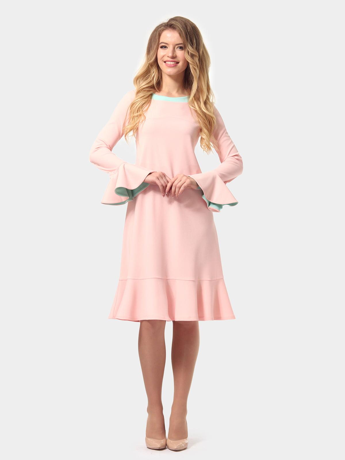 Платье цвета пудры   4784927   фото 2
