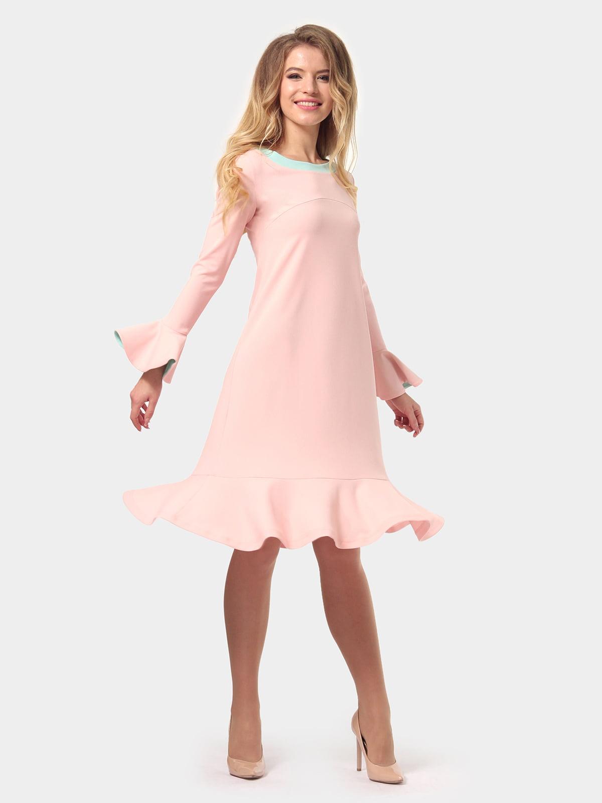 Платье цвета пудры   4784927   фото 3